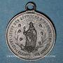 Münzen Alsace. Cernay. Inauguration de la nouvelle école. 1887. Médaille étain. 28,7 mm