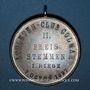 Münzen Alsace. Colmar. Club athlétique de Colmar. 1897. 2e prix de soulever. Médaille argent. 39,67 mm