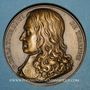 Münzen Alsace. Hommage à Turenne - Bataille de Turckheim. 1675 (vers 1932). Médaille bronze. 41,05 mm