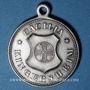 Münzen Alsace. Kingersheim. Chorale Caecilia - Consécration du drapeau. 1894. Médaille bronze argenté
