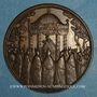 Münzen Alsace. Marienthal. Vierge de Marienthal (Bas-Rhin). Epreuve en bronze de l'avers, 19 septembre 1859
