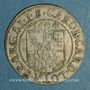 Münzen Alsace. Strasbourg. Evêché. Charles de Lorraine (1592-1607). 3 kreuzers 1604S. Saverne