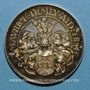Münzen Alsace. Strasbourg. Naisssance de Maurice Himly. 1891. Médaille argent. 30,5 mm.