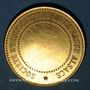 Münzen Bas-Rhin. Société d'horticulture du Bas-Rhin. Médaille bronze doré. 28,21 mm