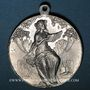 Münzen Colmar. 6e rencontre  des chorales d'Alsace-Lorraine. 1910. Aluminium. 36,40 mm, avec son anneau