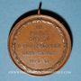 Münzen Colmar. Corso. Compétition cycliste des clubs vélocipédiques colmariens. 1899. Médaille cuivre