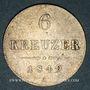 Münzen Autriche. François Joseph I (1848-1916). 6 kreuzer 1849A. Vienne