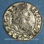 Münzen Autriche. Léopold I (1657-1705). 3 kreuzer 1689. Hall
