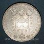 Münzen Autriche. République. 100 schilling (1974). Jeux olympiques d'hiver d'Innsbruck - Emblème olympique