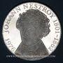 Münzen Autriche. République. 100 schilling 1976. Jean Nestroy