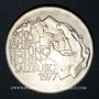 Münzen Autriche. République. 100 schilling 1977. 900e anniversaire de la forteresse de Salzbourg