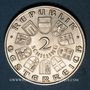 Münzen Autriche. République. 2 schilling (1933). Seipel