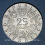 Münzen Autriche. République. 25 schilling 1968. 300e anniversaire de la naissance de von Hildebrandt
