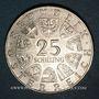 Münzen Autriche. République. 25 schilling 1972. Carl Michael Ziehrer