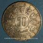 Münzen Autriche. République. 50 schilling 1964. 9e Jeux Olympiques à Innsbruck