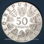 Münzen Autriche. République. 50 schilling 1970. Dr Charles Renner