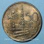Münzen Belgique. Baudouin I (1951-1993). 50 francs 1958