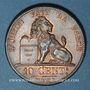 Münzen Belgique. Léopold I (1831-1865). 10 centimes 1832