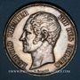 Münzen Belgique. Léopold I (1831-65). Module de 5 francs 1853 Mariage du duc et de la duchesse de Brabant