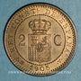 Münzen Espagne. Alphonse XIII (1886-1931). 2 centimos 1905 (05) SM-V