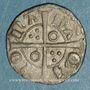 Münzen Espagne. Comté de Barcelone. Pierre III (1336-1387). Obole