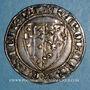 Münzen Italie. Royaume de Naples. Charles I d'Anjou (1266-1285). Salut d'argent. Naples