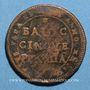 Münzen Vatican. Pérouse. 5 baiocchi (1797-1798), an XXIII