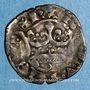 Münzen Charles IV (1322-1328). Double parisis, 3e émission (24 juillet 1326)