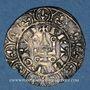 Münzen Charles IV (1322-1328). Maille blanche, 2e émission. Type inédit !