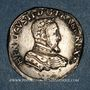 Münzen Charles IX (1560-1574). Monnayage au nom de Henri II. Teston, 2e type, 1560 D. Lyon