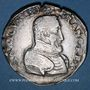 Münzen Charles IX (1560-1574). Monnayage au nom de Henri II. Teston, 2e type, 1561 T. Nantes