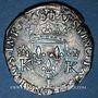 Münzen Charles IX (1560-1574). Monnayage en son nom. Teston, 3e type, 1568 L. Bayonne