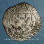 Münzen Charles VI (1380-1422). Blanc guénar à l'O rond, 2e émission (1389). La Rochelle