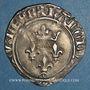 Münzen Charles VI (1380-1422). Monnayage du dauphin Charles. Florette, 3e émission (1419). Romans