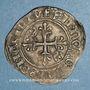 Münzen Charles VI (1380-1422). Monnayage du dauphin Charles. Florette, 5e émission (1419). Tours