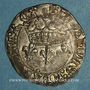 Münzen Charles VII (1422-1461). Blanc aux lis accostés. La Rochelle, point 9e