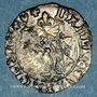 Münzen Charles VIII (1483-1498). Liard du Dauphine. Crémieu, point 1er