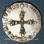 Münzen Charles X, roi de la Ligue (1589-1590). 1/4 d'écu 1591 A et point 18e. Paris