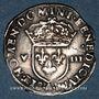 Münzen Charles X, roi de la Ligue (1589-1590). 1/8 d'écu 1591 A et point 18e. Paris