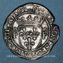 Münzen François I (1515-1547). Teston (cf 13e type). Lyon (annelet 12e). Type inédit !