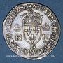 Münzen Henri II (1547-1559). 1/2 teston, 1er type, 1552 D et point 12e. Lyon