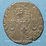 Münzen Henri II (1547-1559). Douzain aux croissants 1550 D. Lyon