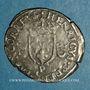 Münzen Henri II (1547-1559). Douzain aux croissants 1551 P. Dijon