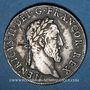 Münzen Henri II (1547-1559). Teston frappé au moulin de Paris, 3e type, 1554 A