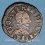 Münzen Henri III (1574-1589). Double tournois du Dauphiné, 1578 Z. Grenoble