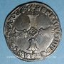 Münzen Henri IV (1589-1610). 1/4 d'écu, 2e type, 1601 L et ancre. Bayonne