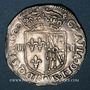 Münzen Henri IV (1589-1610). 1/4 d'écu de Navarre 1591. Saint-Palais