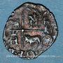 Münzen Henri IV (1589-1610). Vaquette de Béarn, 2e type, n. d. Morlaas
