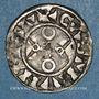 Münzen Louis VII (1137-1180). Denier, 1er type, Mantes
