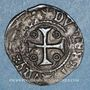 Münzen Louis XI (1461-1483). Double tournois, 1ère émission (31 décembre 1461). Saint-Pourçain (point 11e)